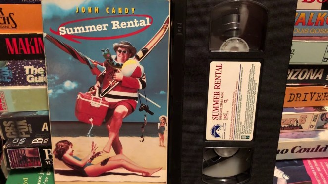 Summer Rental VHS Tape