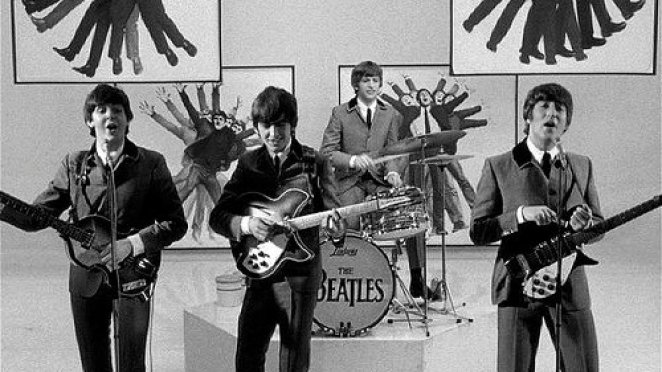 """The Beatles run a lot during the film, """"A Hard Days Night""""."""