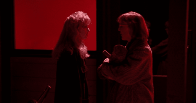 Laura Palmer and the Log Lady