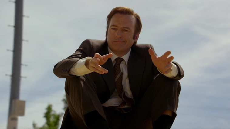 "Bob Odenkirk as Jimmy McGill in the Better Call Saul pilot episode ""Uno"""