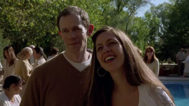 Gretchen and Elliot Schwartz in Breaking Bad