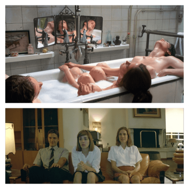 Comparison between The Dreamers and Dogtooth