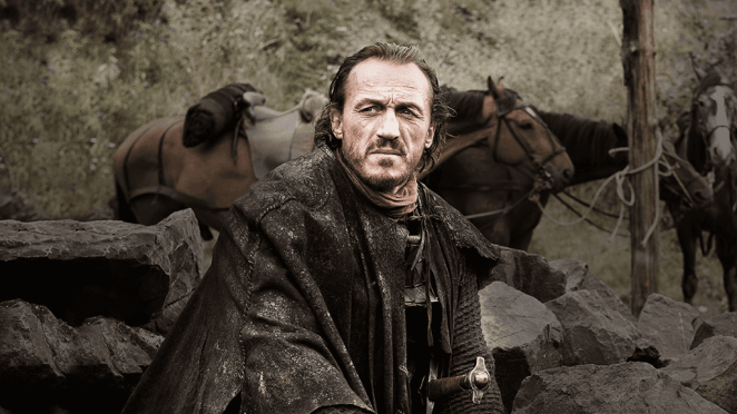 Bronn in Game of Thrones