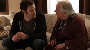 Bill Hader and Henry Winkler from HBO's Barry