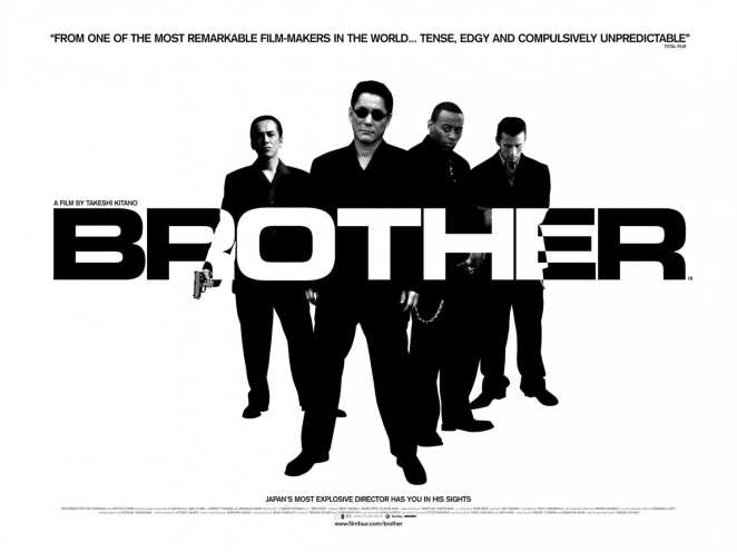Takeshi Kitano's first American financed film Brother, from 2000