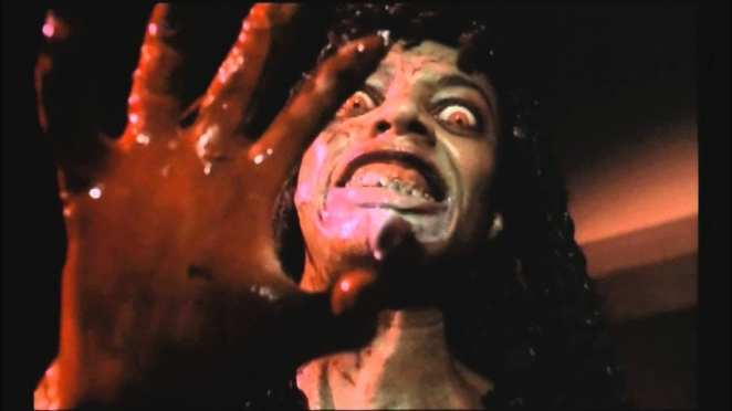 An unlucky movie-goer is one of many who will be transformed into a bloodthirsty demon.