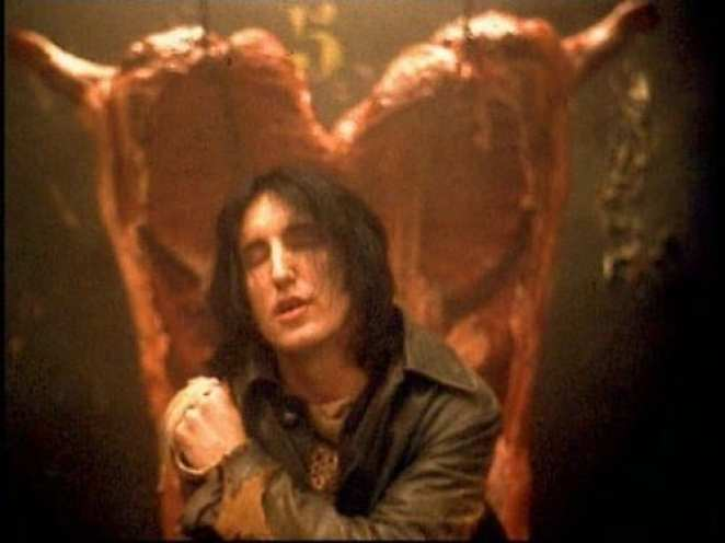 Trent Reznor from the Nine Inch Nails Closer video