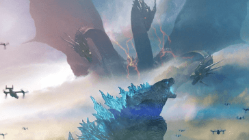 Godzilla fights in Godzilla: King of the Monsters