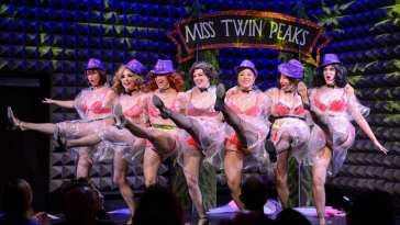 Miss Twin Peaks Pageant acted by Pink Room Burlesque.