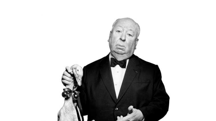 Alfred Hitchcock and Duck