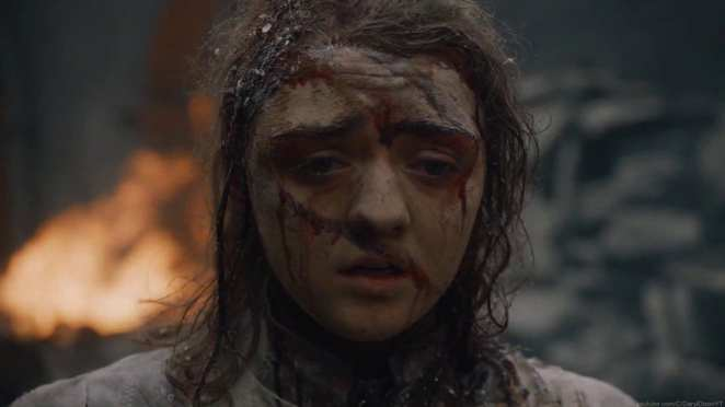 """Arya is torn apart by Daenerys's anger in Game of Thrones """"The Bells"""""""
