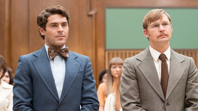 Ted Bundy (Zac Efron) insisting on playing the part of his own attorney at his own murder trial in the late 1970s.