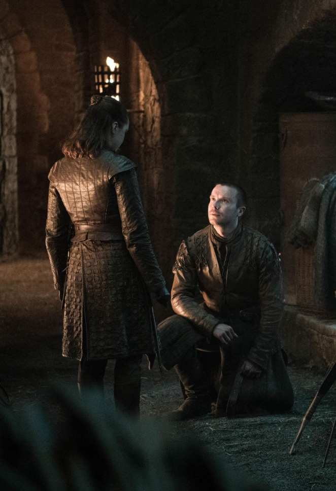 Gendry proposes to Arya