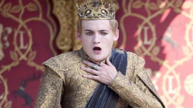 Joffrey chokes in Game of Thrones
