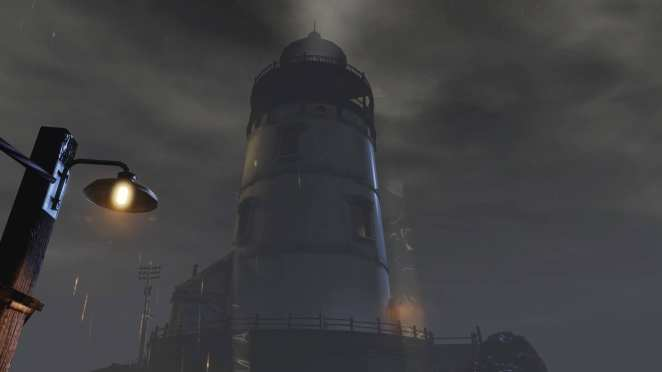 Lighthouse in bioshock infinite