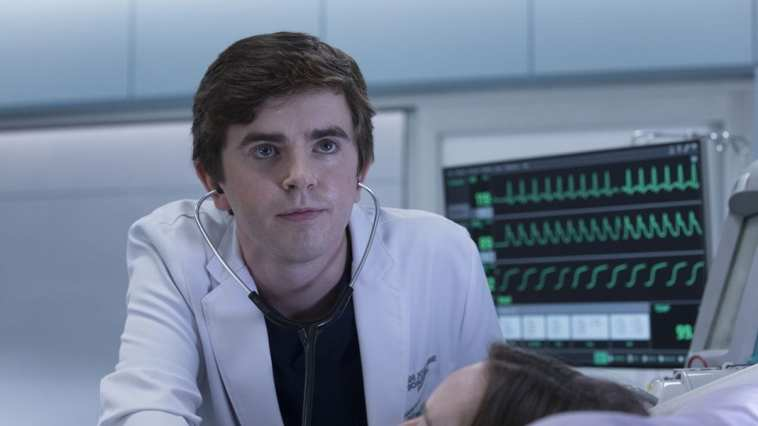 Freddie Highmore stars as Shaun Murphy in The Good Doctor