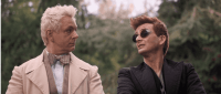 In the Beginning of Good Omens, one angel and one demon became friends.