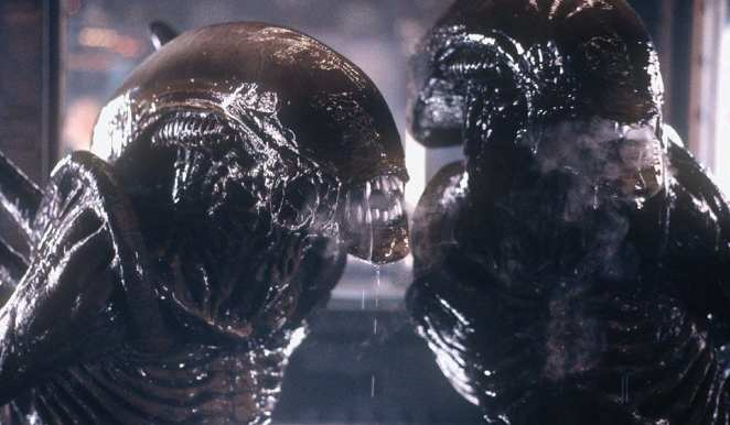 steamy, gooey aliens