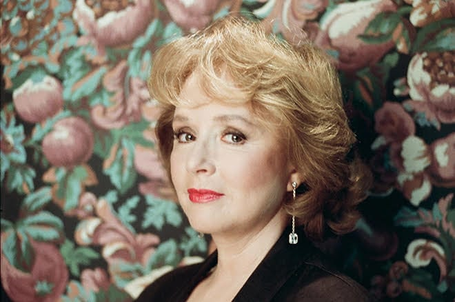 Piper Laurie as Catherine Martell in Twin Peaks