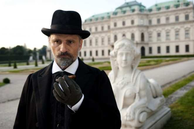 Viggo Mortensen as the increasingly detached Freud in David Cronenberg's A Dangerous Method
