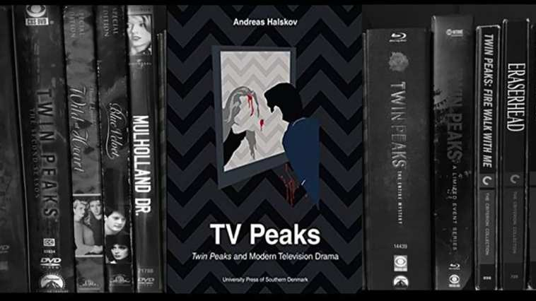 David Lynch movie collection (American) with Andreas Halsov's book in center