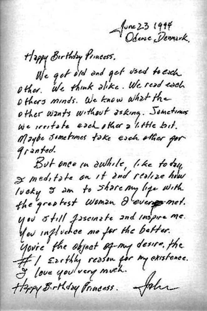 Johnny Cash's love letter to June Carter on her 65th birthday is one of the most romantic things you'll ever read. This is in his own handwriting.