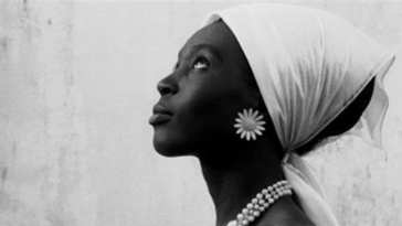 Mbissine Therese Diop, actress in Ousmane Sembene's film La noire de (Black Girl)