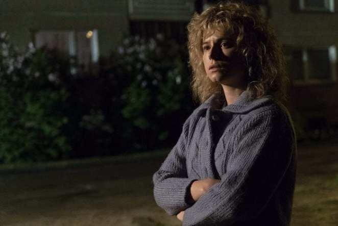 Jessie Buckley as Lyudmila Ignatenko in HBO's Chernobyl