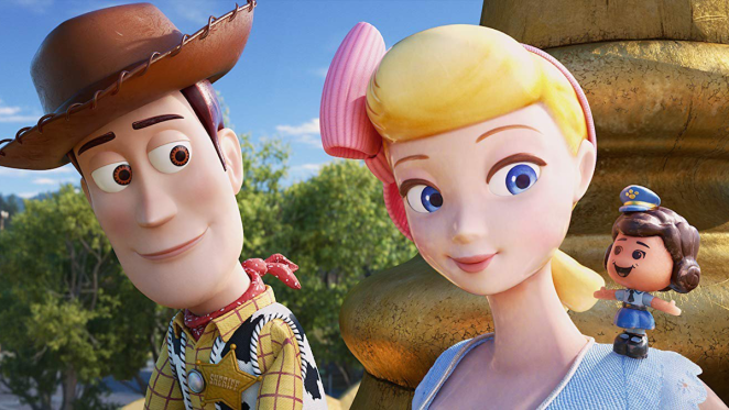 """Woody reunites with a rediscovered and independent Bo Peep in """"Toy Story 4"""""""