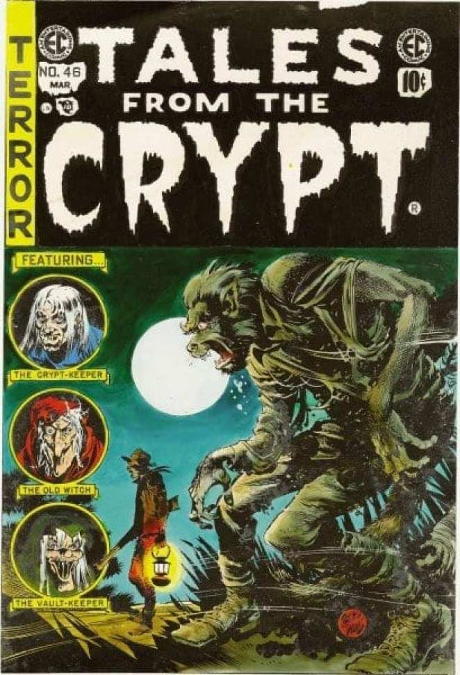 William Gates' original Tales From The Crypt was a horror imprint on his EC Comics label from 1950-1955.