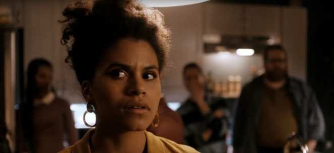 Zazie Beetz is confused as her life starts resembling a Twilight Zone episode itself