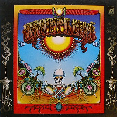 Cover of Grateful Dead 1969 album Aoxomoxoa