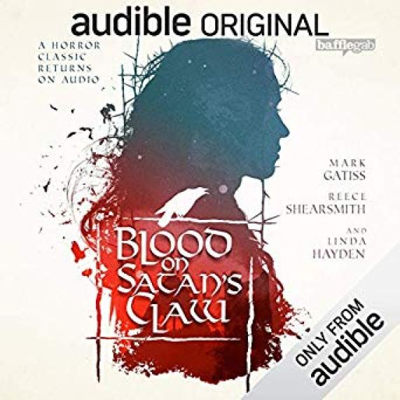 Cover Art for Audible's Blood on Satan's Claw