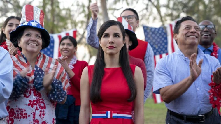 Marisol (Martha Higareda) is trapped in an American nightmare in Into the Dark: Culture Shock.