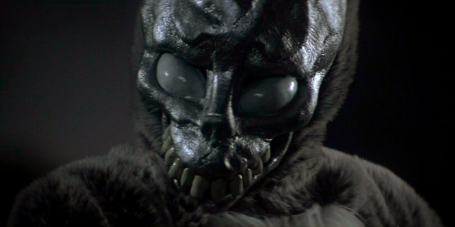 Frank the rabbit face in Donnie Darko