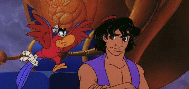 Aladdin and Iago