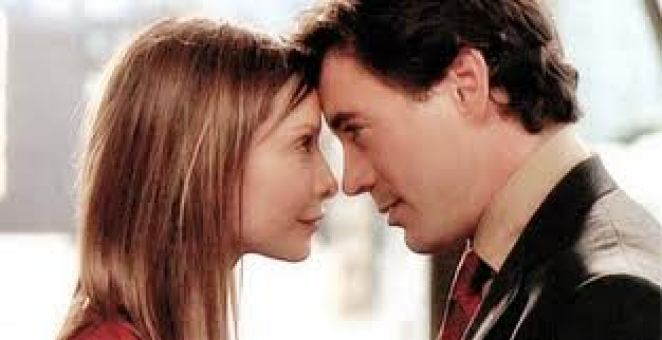 Ally McBeal and Larry Paul were THE match of the entire show.