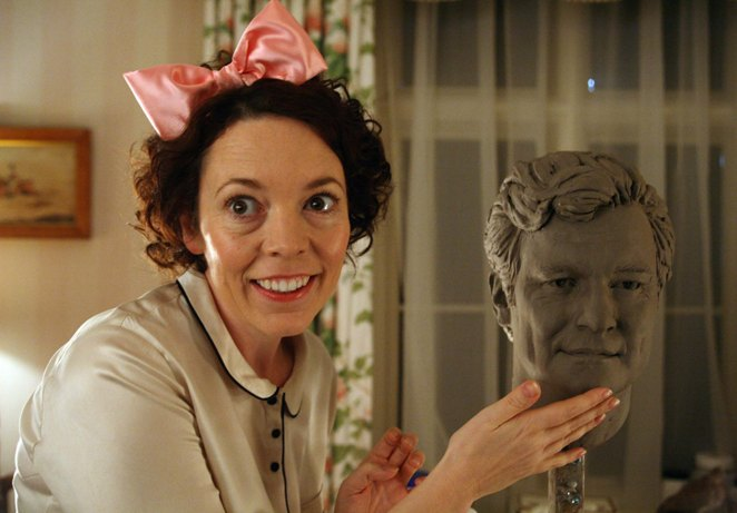 Olivia Colman as Joan Cauldwell in the one-off comedy special Bad Sugar