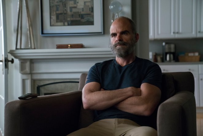 Doug Stamper with a beard