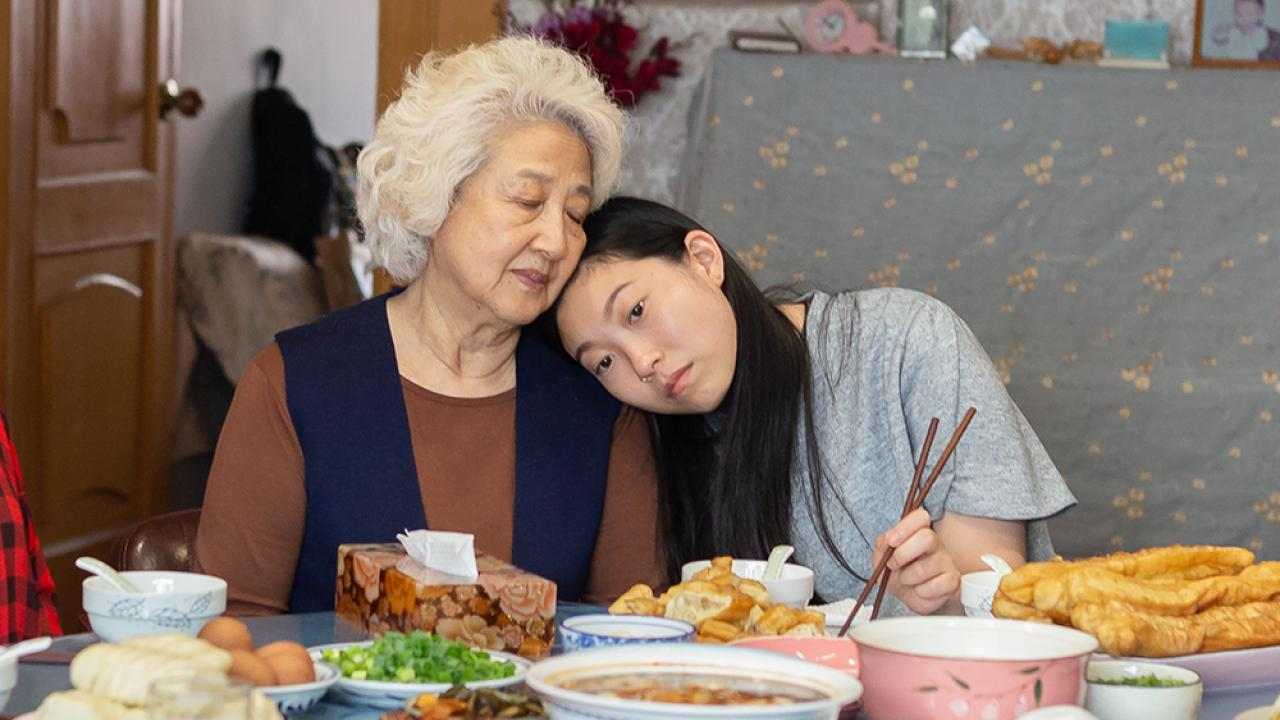 Zhao Shuzhen and Awkwafina paint a relationship for the ages.