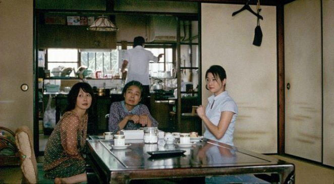 The Yokoyama family recognize the death of one of their own in Still Walking