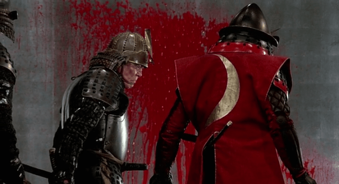 Kurosawa never shies away from an epic blood letting