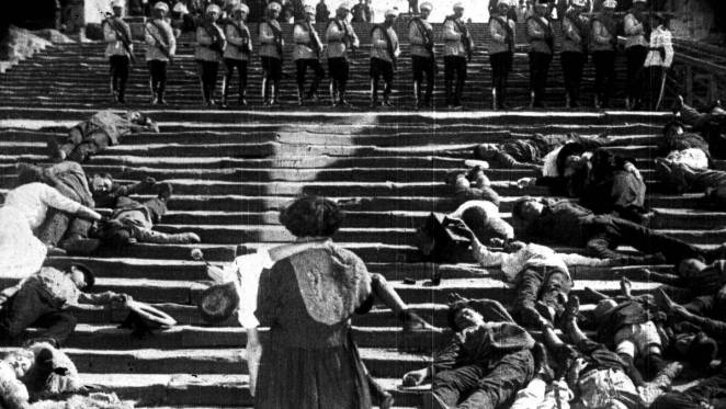 Many civilians died on The Odessa Steps in Battleship Potemkin