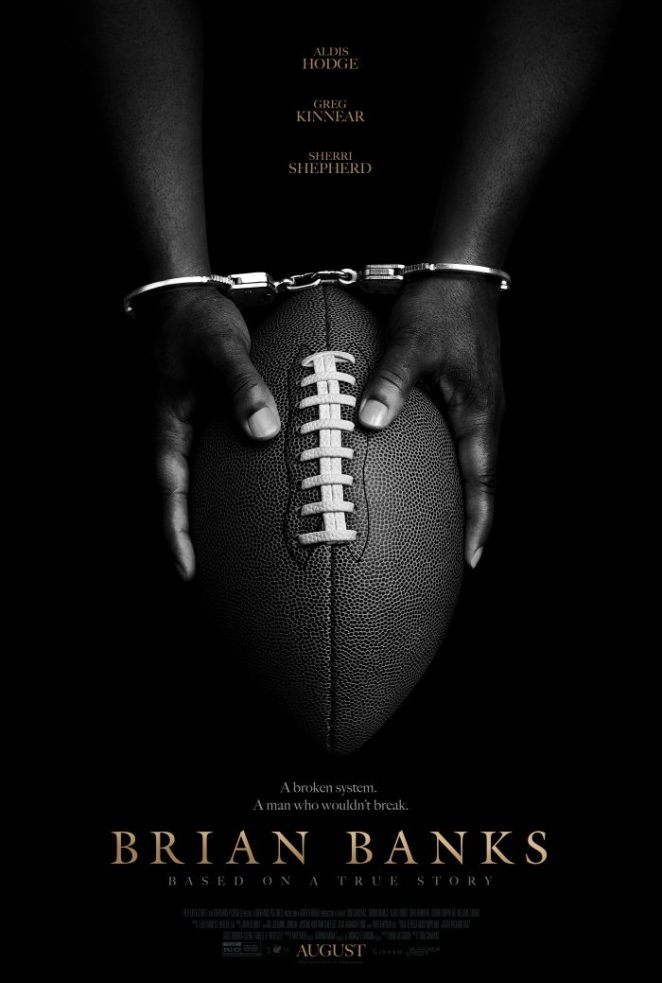 """The poster for director Tom Shadyac's inspiring """"Brian Banks"""""""