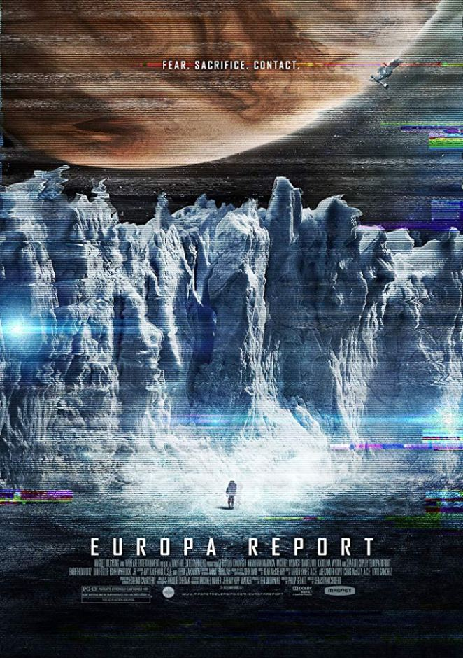 "The official poster for 2013's underseen sci-fi gem ""Europa Report"""