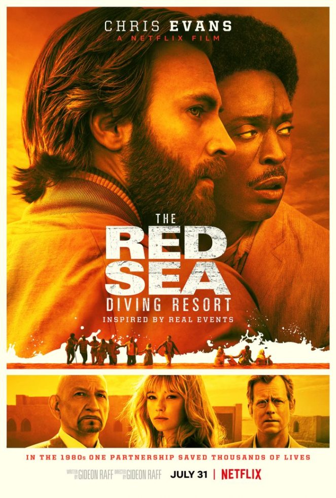 """The official poster of Netflix's """"The Red Sea Diving Resort"""""""