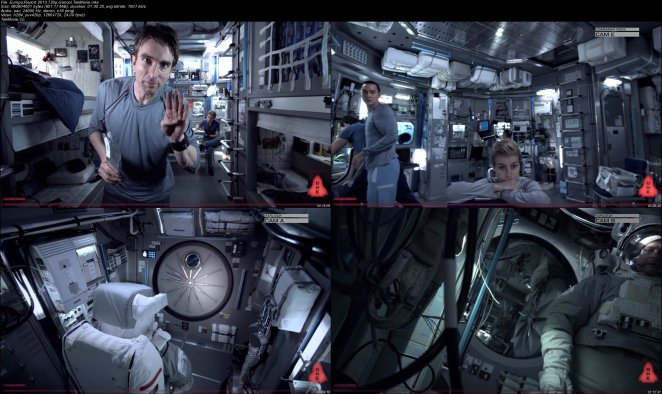 """The split-screen and display margins given an authenticity layer to """"Europa Report"""""""
