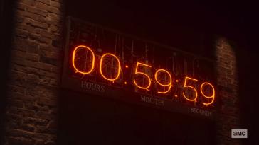 The countdown clock to the apocalypse in Preacher
