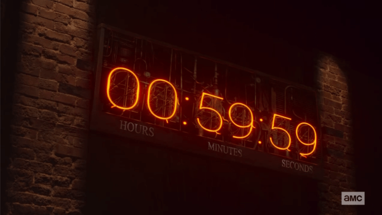 The countdown clock to the apocalypse in Preacher