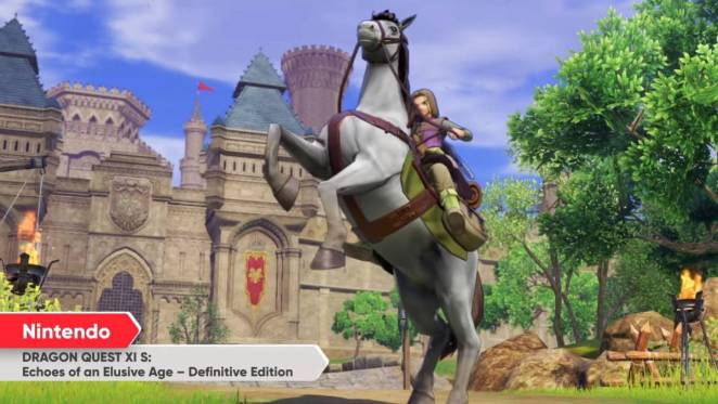 Dragon Quest XI from Direct/